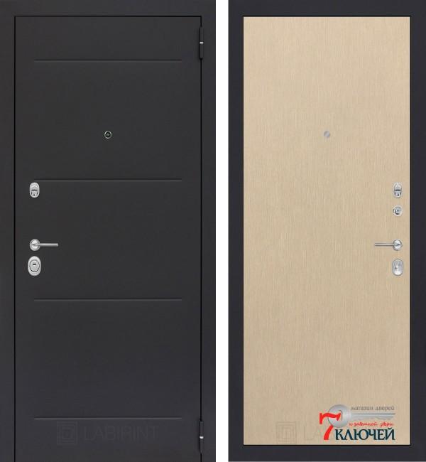 Дверь Лабиринт LOFT 05, светлый венге