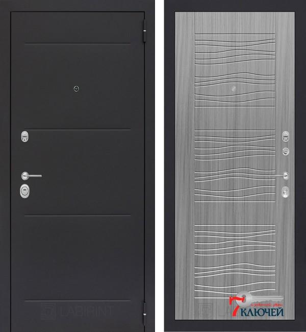 Дверь Лабиринт LOFT 06, сандал серый