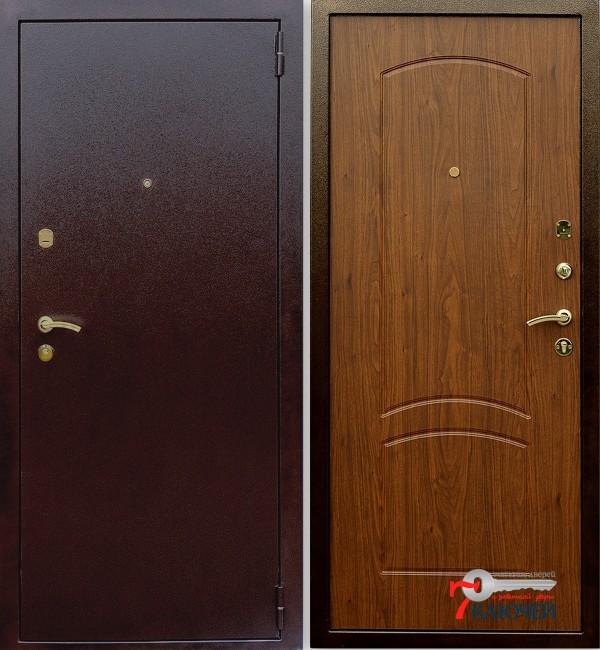 Дверь ЛЕКС 1А, медный антик