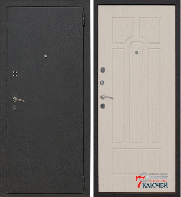 Дверь ЛЕКС 1А, беленый дуб
