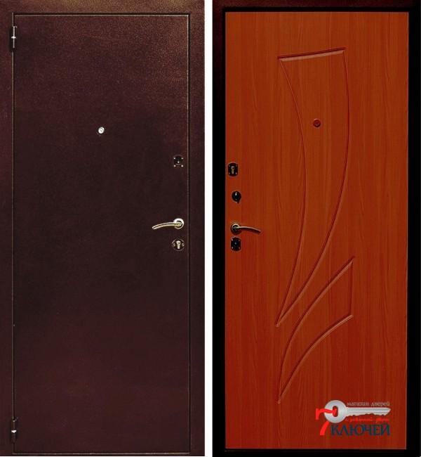 Дверь ЛЕКС 1, клен красный