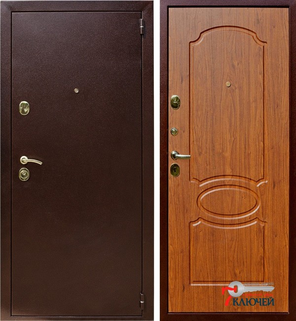 Дверь Лекс 2, береза мореная