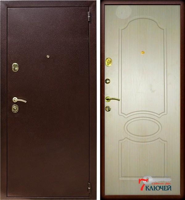 Дверь Лекс 2, беленый дуб