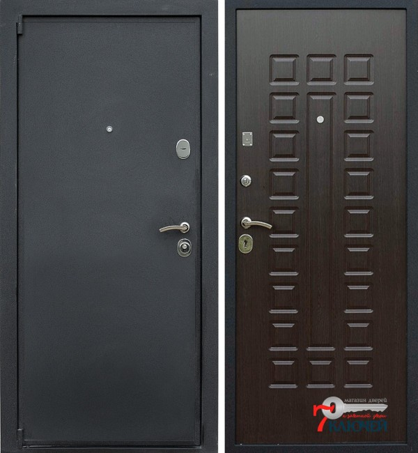 Дверь ЛЕКС 3, венге