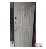 Дверь Лекс 8 СЕНАТОР, беленый дуб