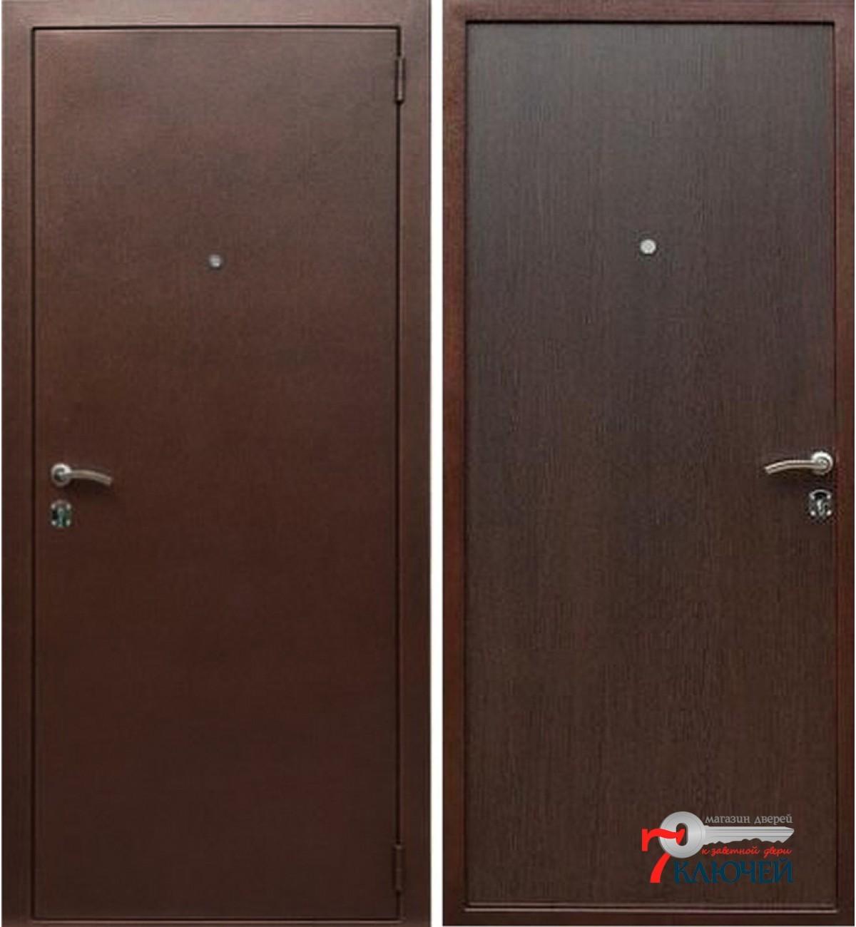 технические стальные двери недорогие