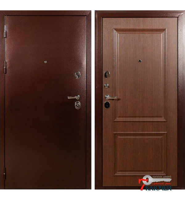 Дверь ЛЕКС ТИТАН, медь