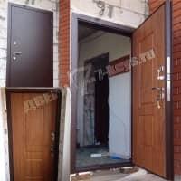 Дверь Аргус Тепло. Установлена в частном доме в г. Домодедово