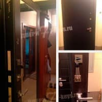 Дверь с большим зеркалом Арма Стандарт New