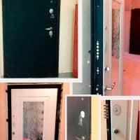 Дверь с зеркалом Интекрон Эллада