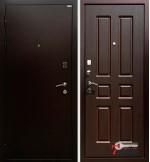 Дверь КОМФОРТ, орех