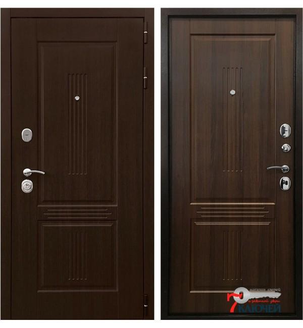 Дверь КОНСУЛ 3К, орех бренди