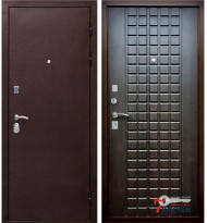 Дверь Ратибор Квадро, венге