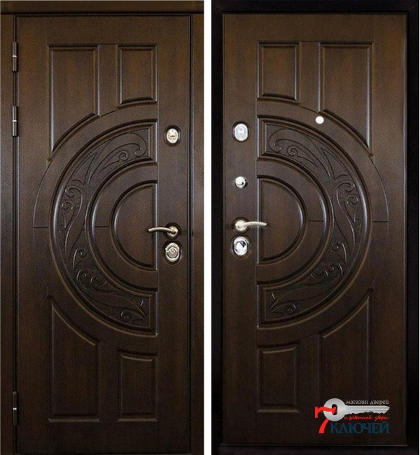 Дверь Ратибор Луна, патина