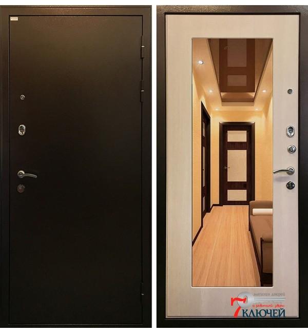 Дверь Ратибор МИЛАН с зеркалом, экодуб