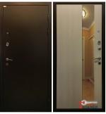 Дверь Ратибор МИЛАН с зеркалом, лиственница беж