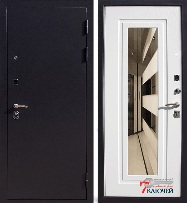 Дверь Ратибор Милан Норд с зеркалом
