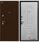 Дверь ОПТИМА, белый матовый