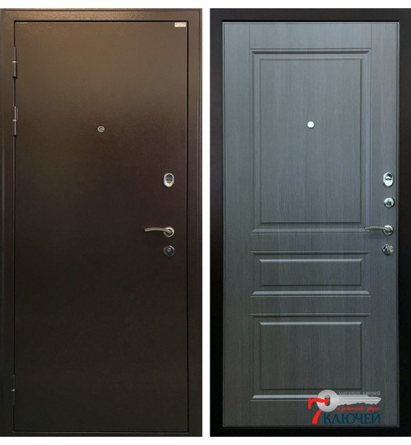 Дверь СТАТУС, серый