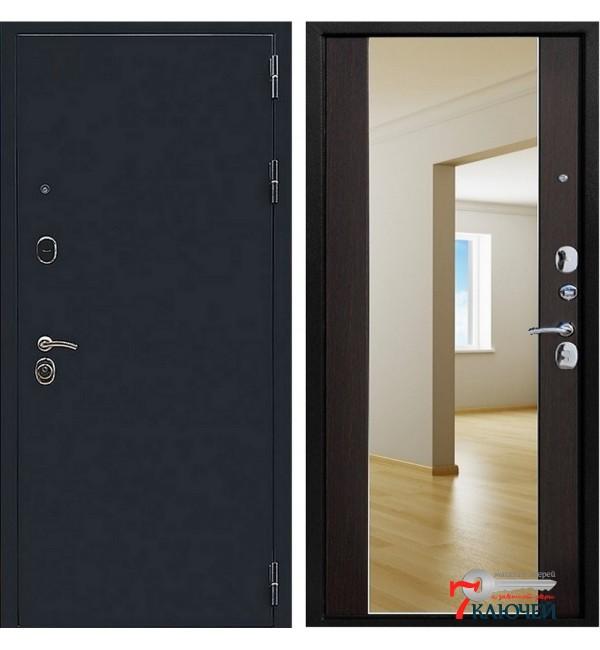 Дверь Премьер-5 с зеркалом в пол, венге