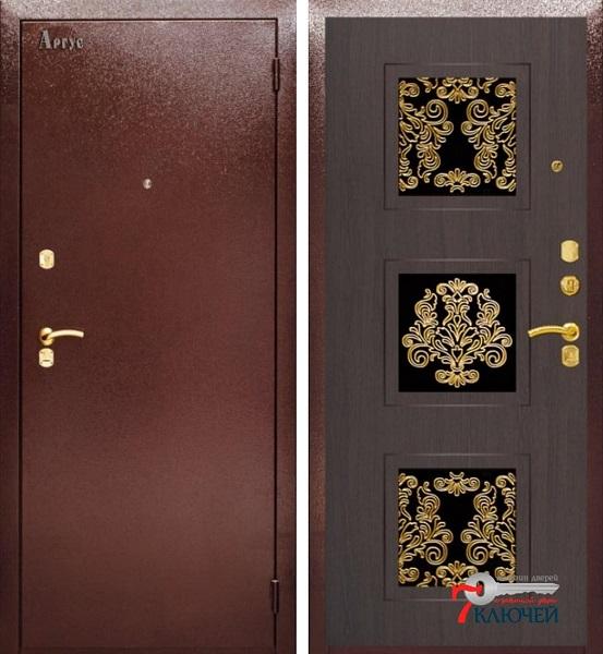 Дверь ARGUS с фурнитурой «Золото»