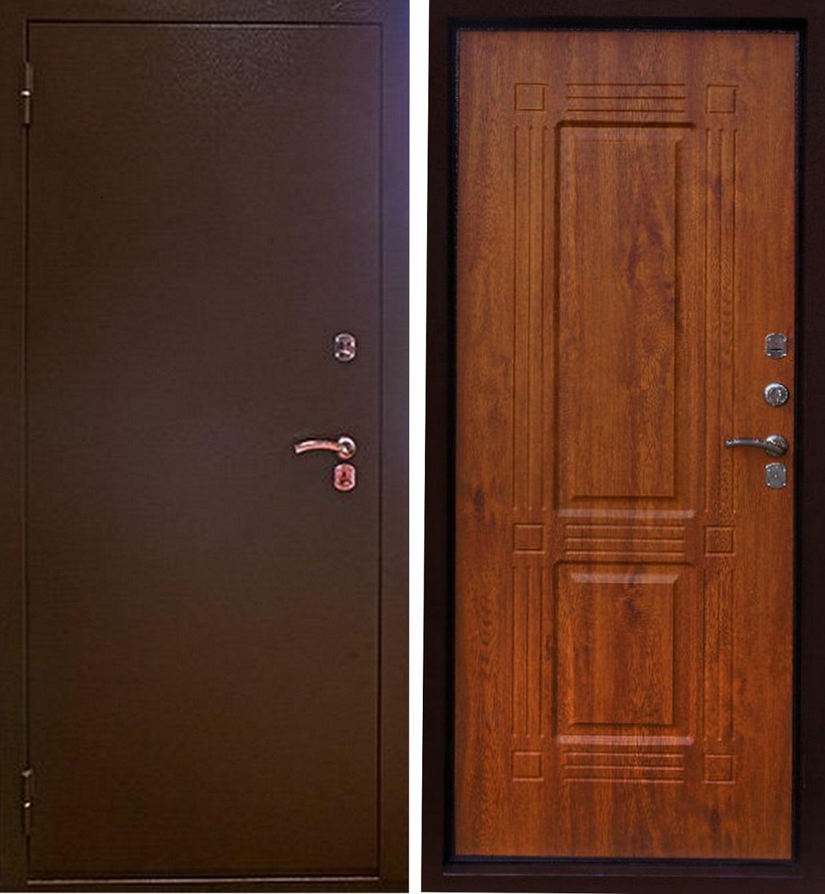 Фото металлических дверей 3
