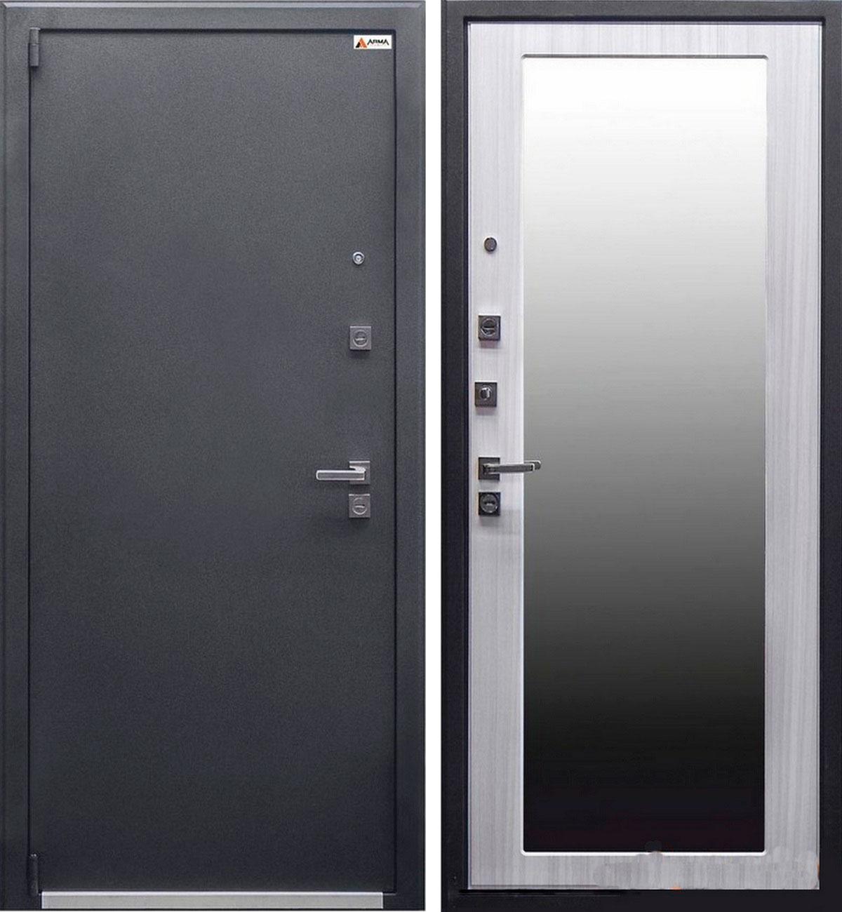двери входные акция белая