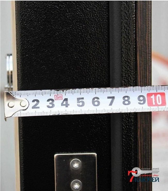 Толщина полотна двери АСД