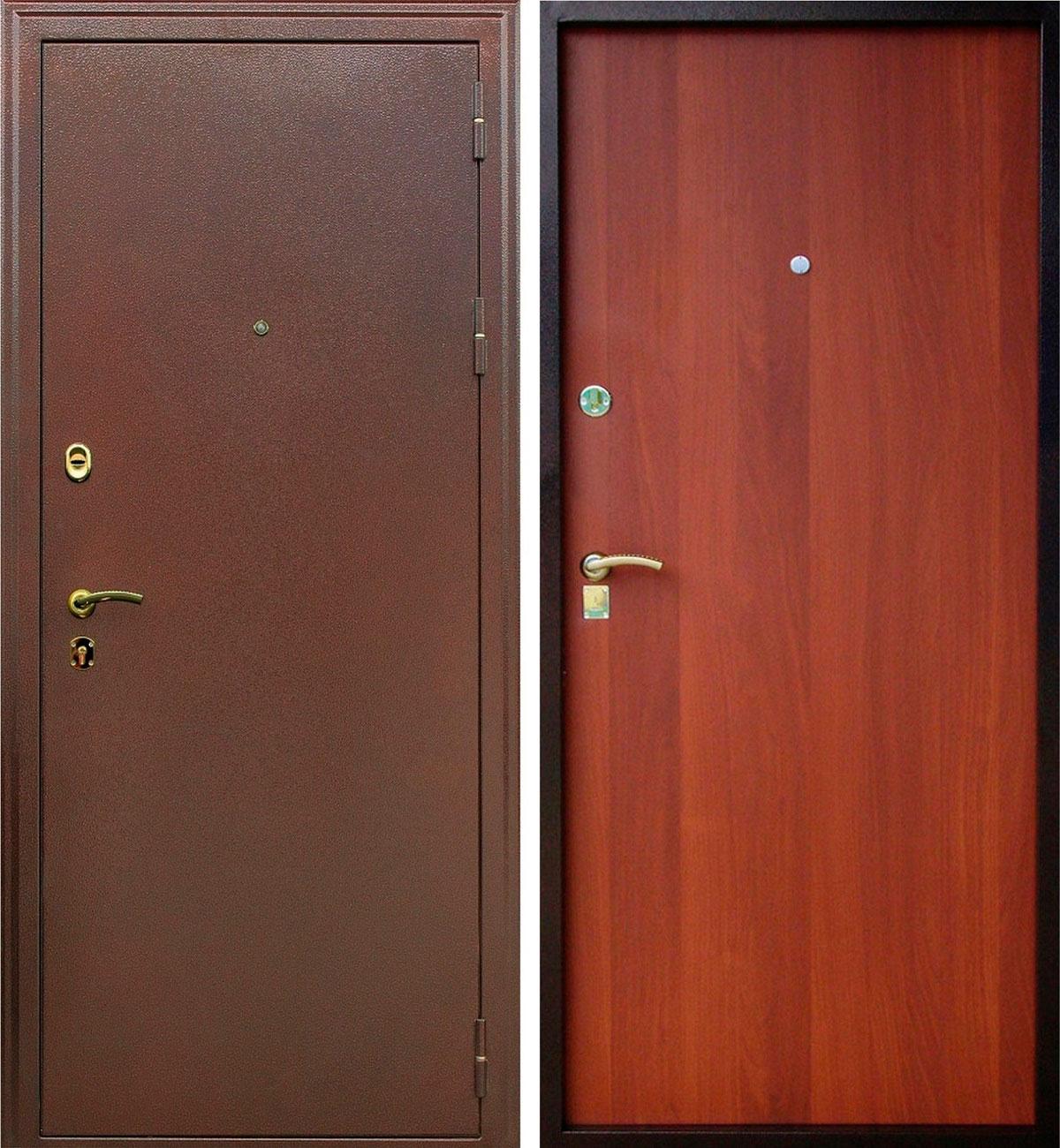 двери металлические стандарт
