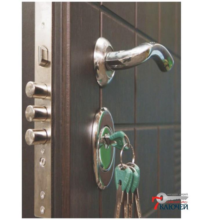 Конструкция входной двери премиум-класса