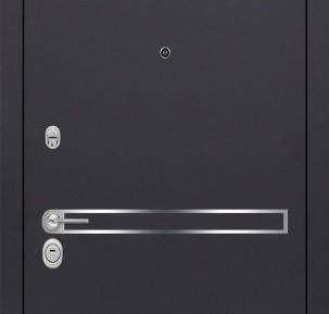 Внешняя отделка двери