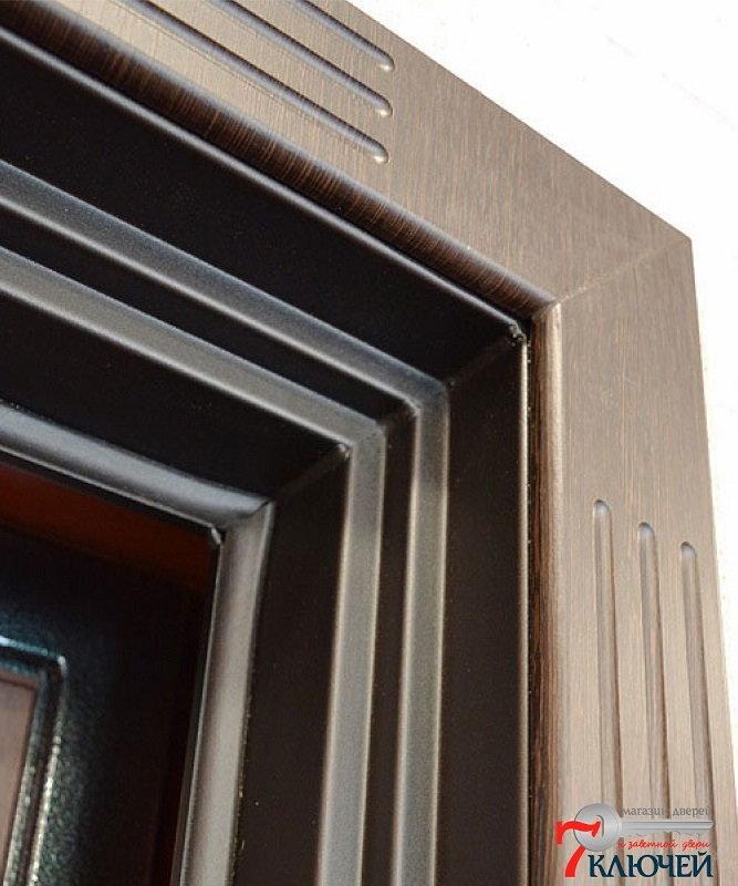 Дверь АСД Гермес с МДФ-наличниками