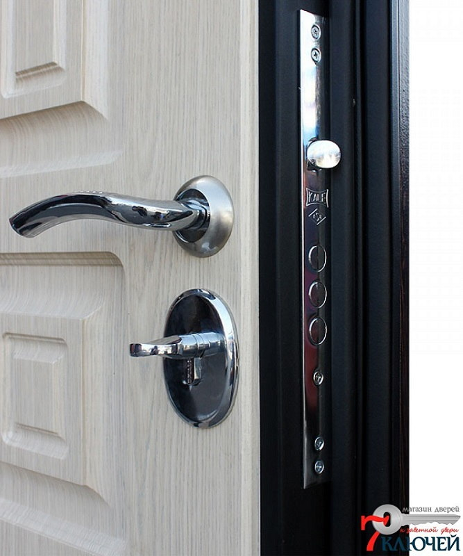 Дверь АСД Атлант с двумя МДФ-панелями