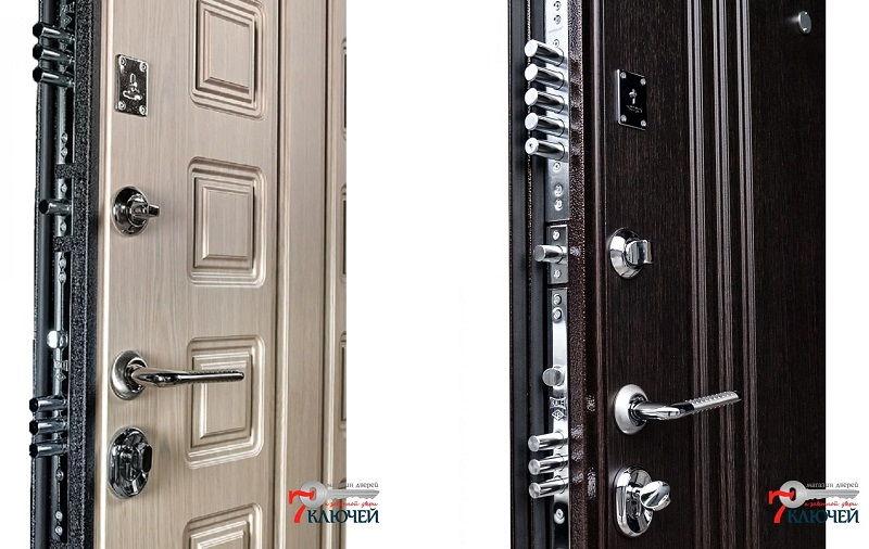 Металлические входные двери Ратибор